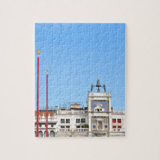 Architectural detail in Venice, Italy Jigsaw Puzzle