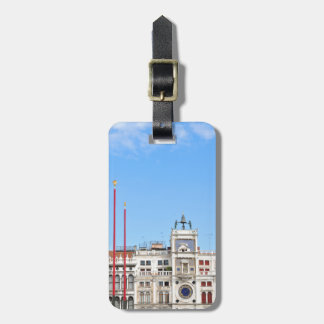 Architectural detail in Venice, Italy Luggage Tag