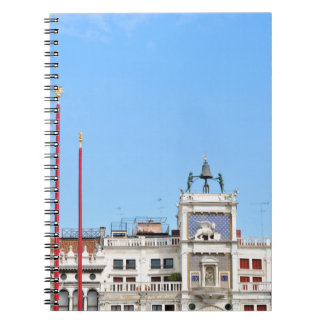Architectural detail in Venice, Italy Notebook