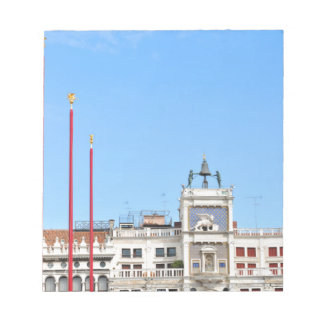 Architectural detail in Venice, Italy Notepad