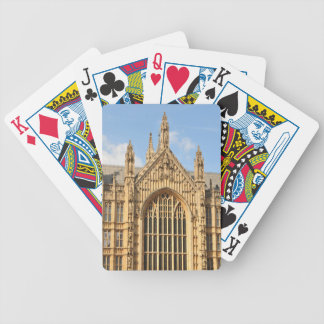 Architectural detail of Gothic window Bicycle Playing Cards