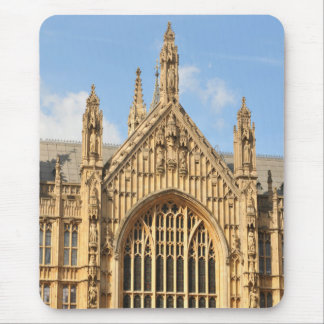 Architectural detail of Gothic window Mouse Pad