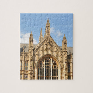 Architectural detail of Gothic window Puzzle