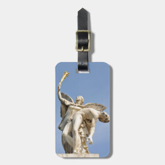 Architectural detail of statue in Berlin, Germany Luggage Tag