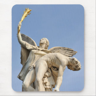 Architectural detail of statue in Berlin, Germany Mouse Pad