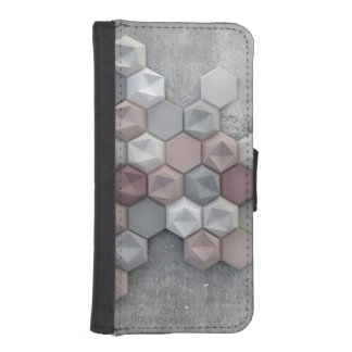 Architectural Hexagons iPhone 5/5s Wallet Case