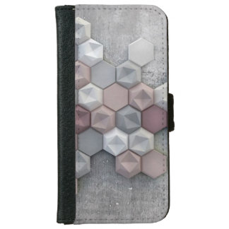 Architectural Hexagons iPhone 6/6s Wallet Case