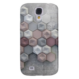 Architectural Hexagons Samsung Galaxy S4 Case