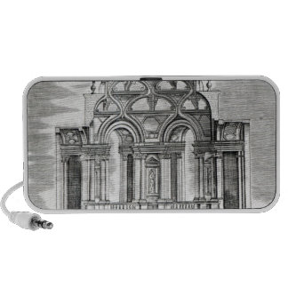 Architectural Illustration Travelling Speaker
