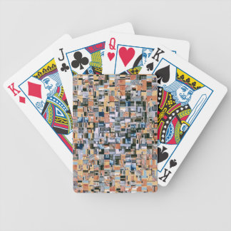 Architectural Jumble Bicycle Playing Cards