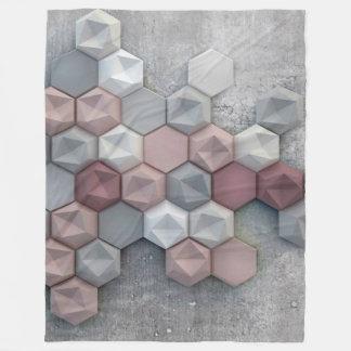 "Architectural Large Fleece Blanket large 60""x 80"""