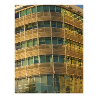 Architectural Patterns Letterhead Design
