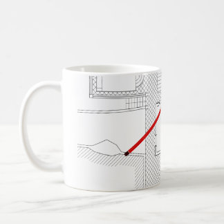 Architectural project, drawing, Architects Coffee Mug
