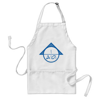 Architectural Reference Symbol Apron (blue)