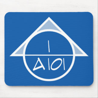 Architectural Reference Symbol Mousepad (light)