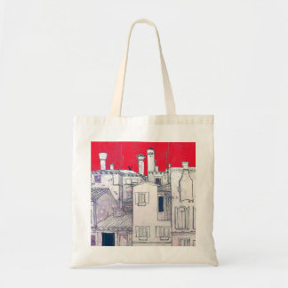 architectural sketch tote bags