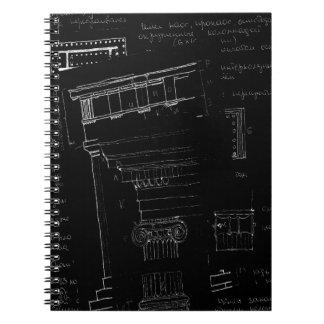 architectural sketch notebook