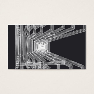 Architectural style business card