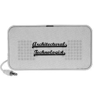 Architectural Technologist Classic Job Design PC Speakers