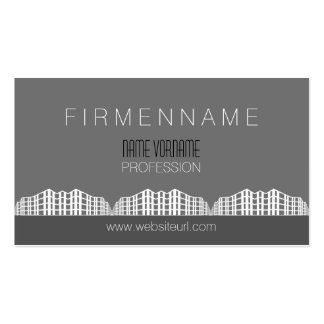 architecture business card templates