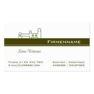 Architecture Design Business Card