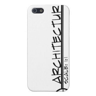 Architecture Drawing Title iPhone Case (dark) iPhone 5 Cover