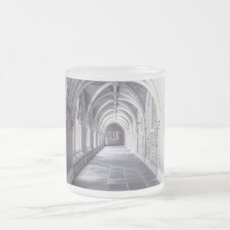 Architecture Elements Arches Frosted Glass Coffee Mug