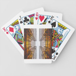 architecture facade buildings windows bicycle playing cards