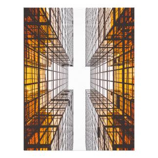architecture facade buildings windows letterhead