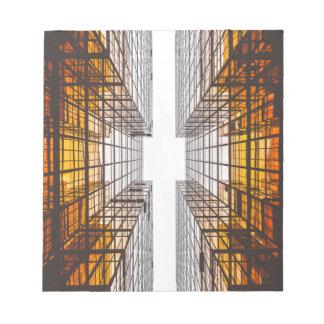 architecture facade buildings windows notepad