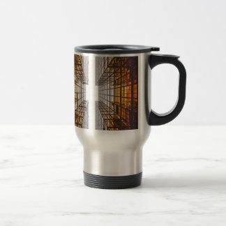 architecture facade buildings windows travel mug