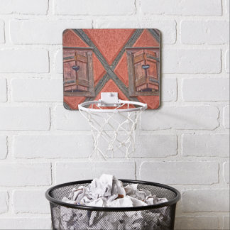 Architecture in Alsace France Mini Basketball Hoop