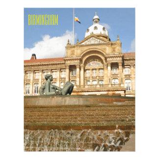 Architecture in Birmingham, England Letterhead