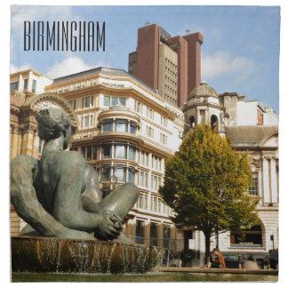 Architecture in Birmingham, England Napkin