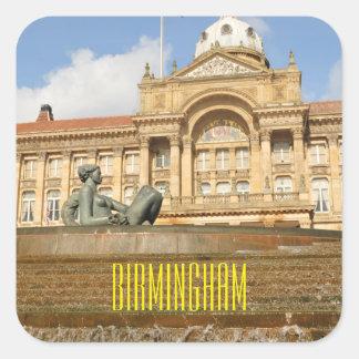Architecture in Birmingham, England Square Sticker