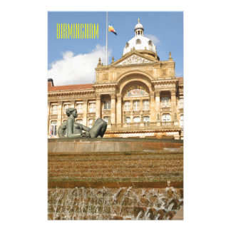 Architecture in Birmingham, England Stationery