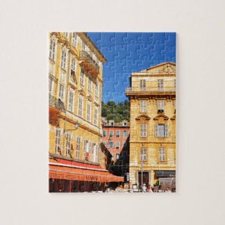 Architecture in Nice, France Jigsaw Puzzle