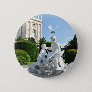 Architecture in Vienna, Austria 2 Inch Round Button
