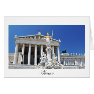 Architecture in Vienna, Austria Card