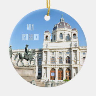 Architecture in Vienna, Austria Ceramic Ornament