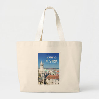 Architecture in Vienna, Austria Large Tote Bag