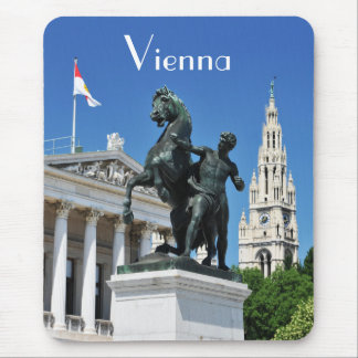 Architecture in Vienna, Austria Mouse Pad