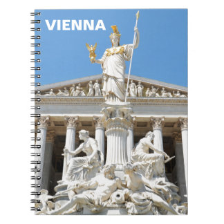 Architecture in Vienna, Austria Notebook