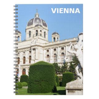 Architecture in Vienna, Austria Notebook