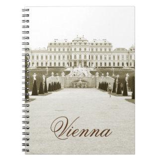 Architecture in Vienna, Austria Notebooks