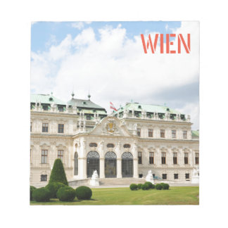 Architecture in Vienna, Austria Notepad
