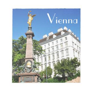 Architecture in Vienna, Austria Notepad