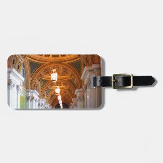 Architecture-Interior Luggage Tag