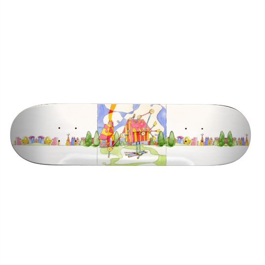 Architecture Is Fun Skate Deck