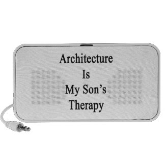 Architecture Is My Son's Therapy Portable Speakers